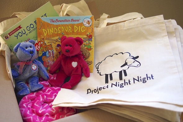 Project Night Night-  Kids helping kids providing comforts to homeless children in shelters