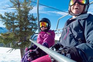 Sugar Bowl in Lake Tahoe is great for young skiers