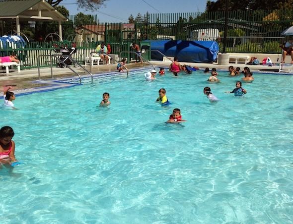 Rankin Aquatic Center in Martinez