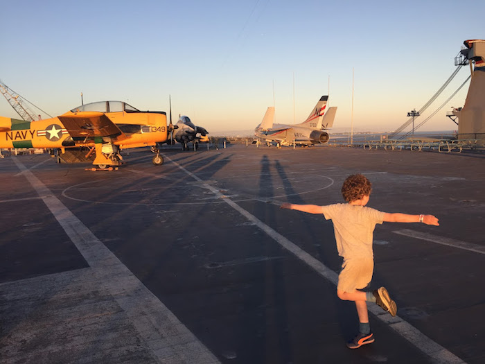 Visit the USS Hornet with kids