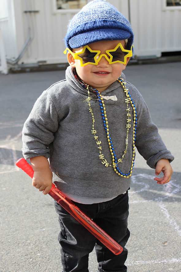 Noon Years Eve and other fabulous ways to celebrate New Years with kids