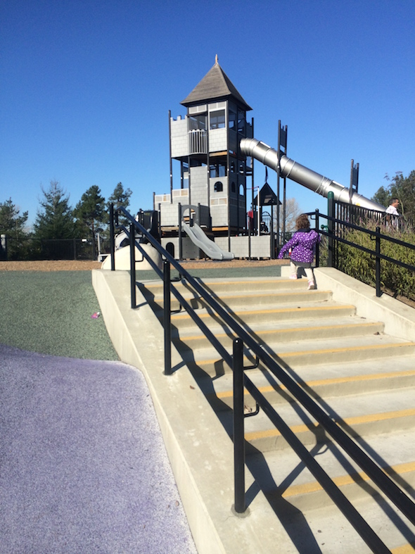 CuriOdyssey at Coyote Point: Magic Mountain Playground