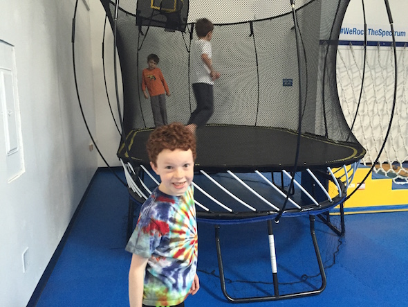 Kids Gym Berkeley trampoline