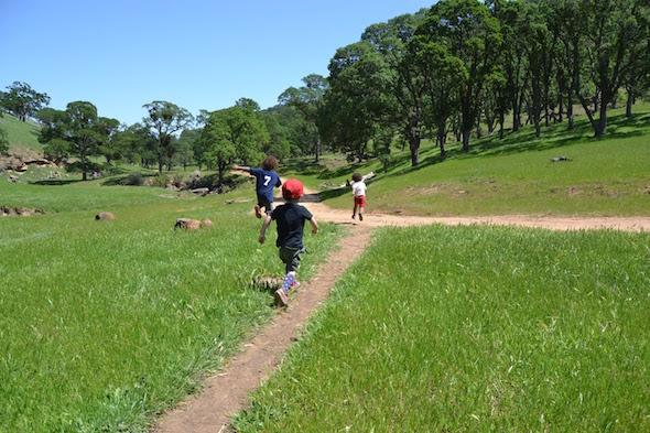 Round Valley running