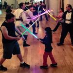 Golden Gate Knights jedi training