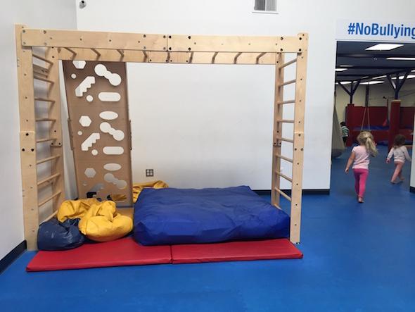 Kids Gym Berkeley climbing structure