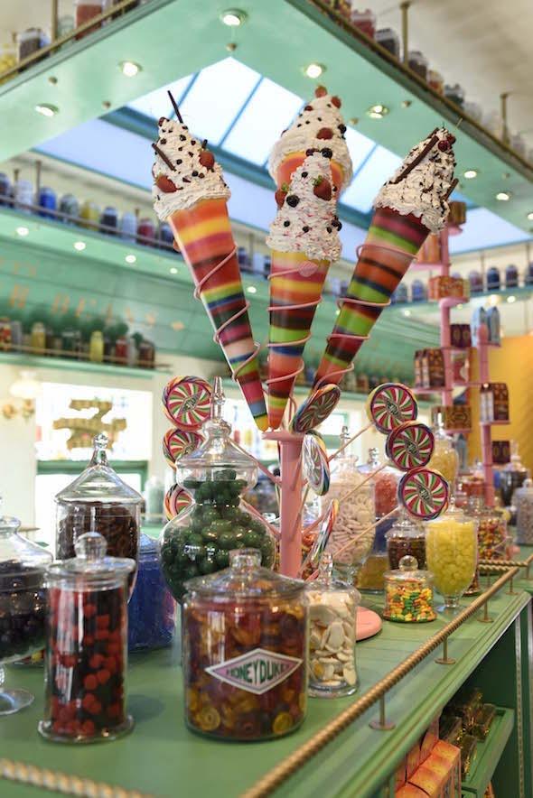 Honeydukes Sweet Shoppe at Universal Studios Hollywood