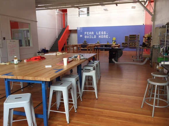 Meeting space for digital classes and more at Girls Garage in West Berkeley