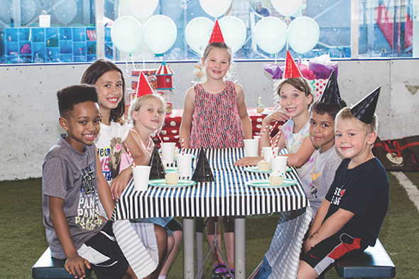 Bladium Alameda birthday party
