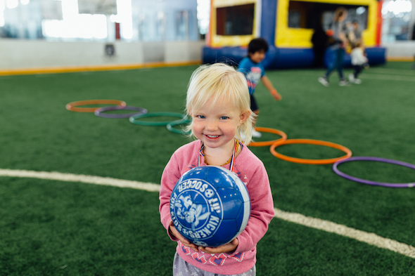 Lil Kickers class: Tots Day out at Bladium in Alameda