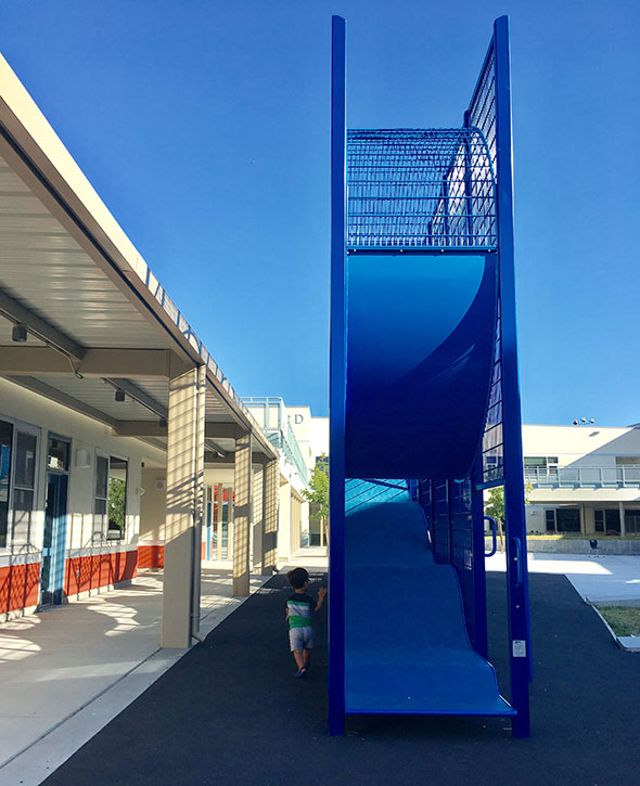 Emeryville's amazing vertical playground