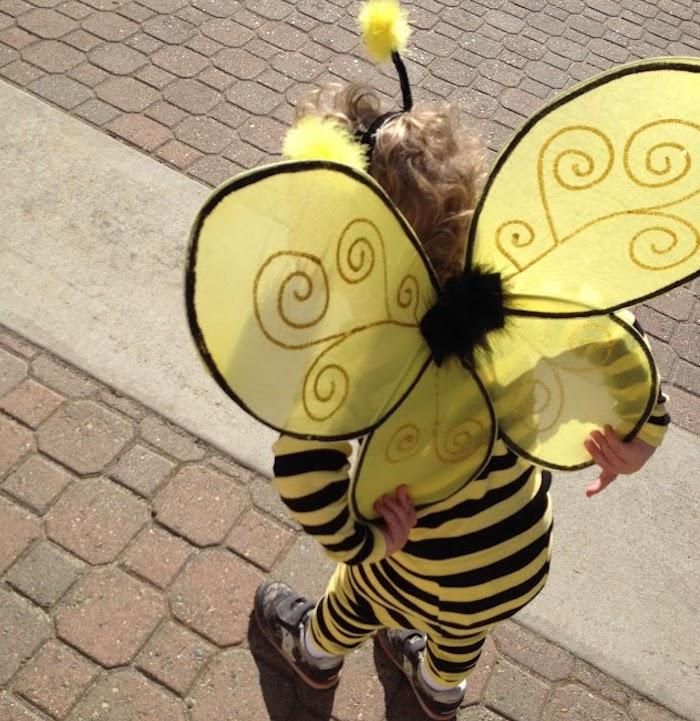 Bumblebee costume easy DIY