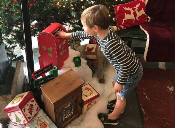 Tilden Park Merry Go Round at Christmastime