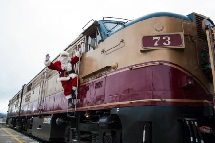 Napa Valley Santa Train. All Aboard!