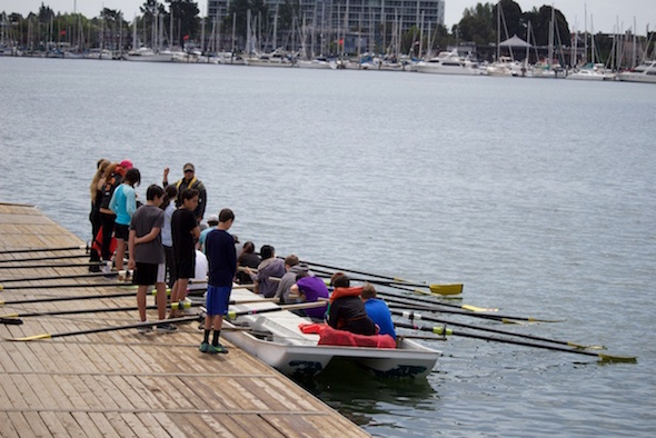BHS Learn to row