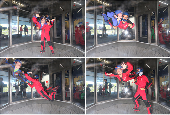 Indoor skydiving at iFly in Union City