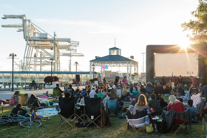 East Bay Summertime Outdoor Movies - Jack London Square Waterfront Flicks