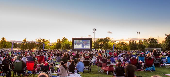 Movies Under the Stars in Walnut Creek