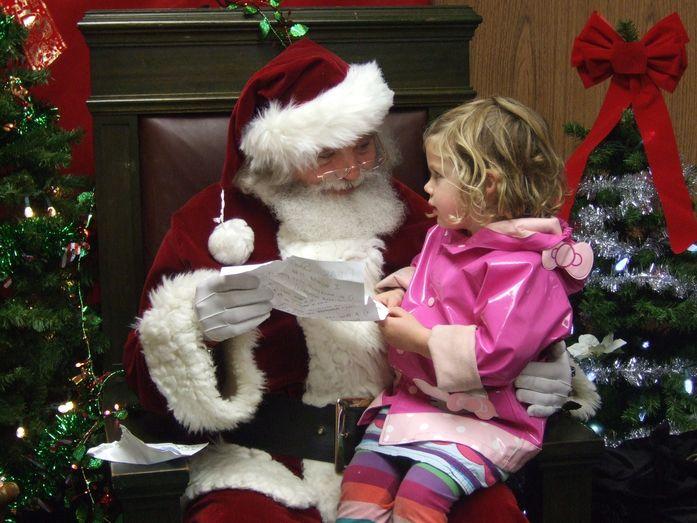 Santa on Solano
