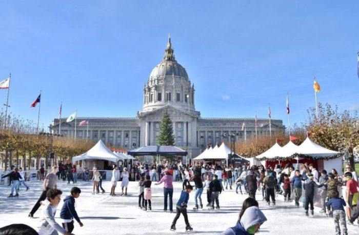 The T-Mobile Winter Ice Skate at Civic Center