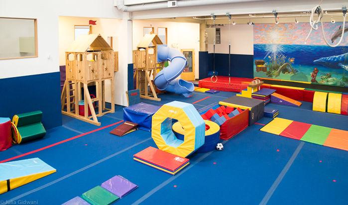 Head Over Heels preschool gym