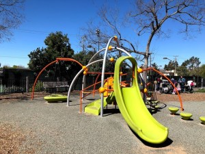 Willard Park playground in Berkeley