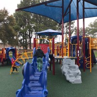 Littlejohn Park in Alameda has an inclusive playground
