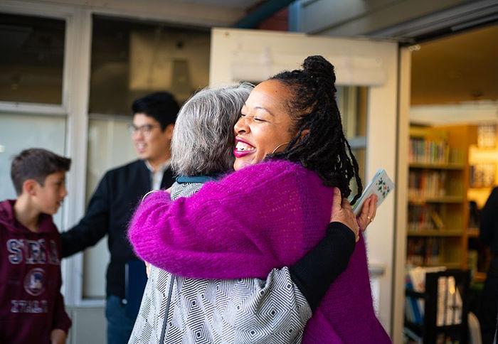 Nisa Frank hugs