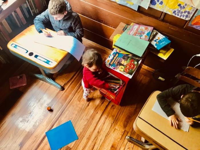 Homeschooling-Children