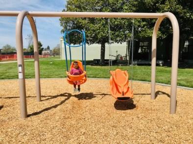 San Pablo Park Swings