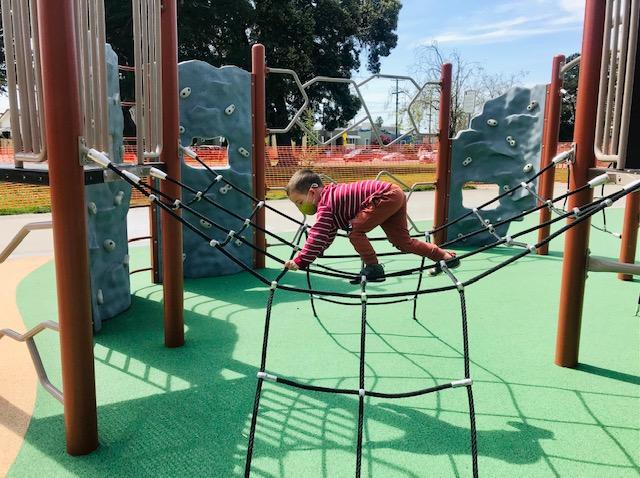 San Pablo Park Climbing
