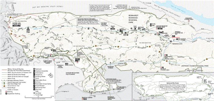 map oakland