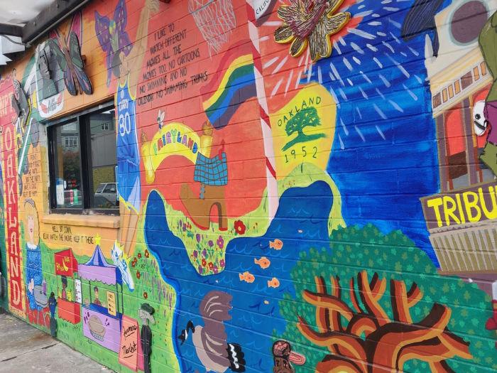 new parkway outdoor mural