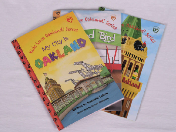 Kids Love Oakland book series