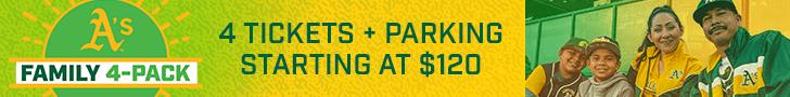 ad for Oakland baseball