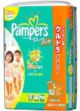 パンパース やわらかコットンケアパンツ ウルトラジャンボ L 62+2枚×3(192枚)