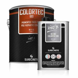 Colored Solvent-Based Polyaspartic Coating | ColorTec 180