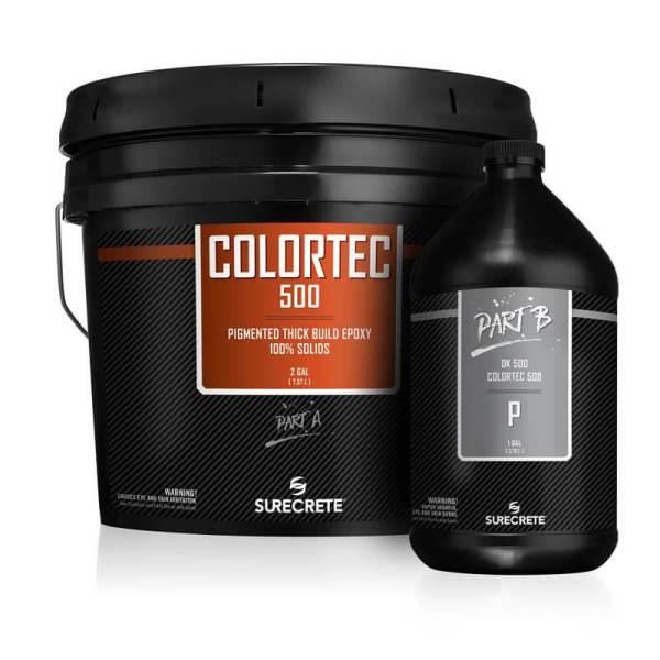 Colored 100% Solids Epoxy Coating   ColorTec 500