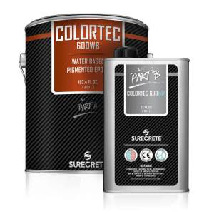 Pigmented Water-Based Epoxy Coating | ColorTec 600WB