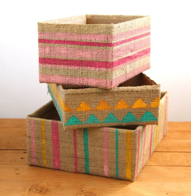 diy-storage-boxes-from-up-cycled-cardboard-boxes-organizing-repurposing-upcycling-storage-ideas
