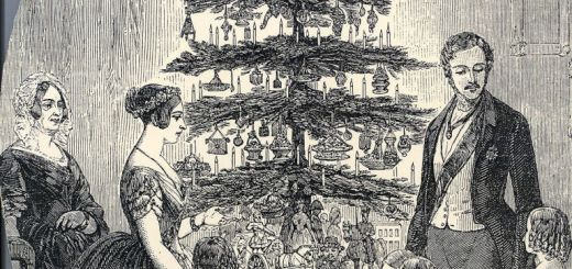 Christmas with Queen Victoria, Prince Albert, their children and Queen Victoria's mother, in 1848 as depicted in the Illustrated London News. Getty Images