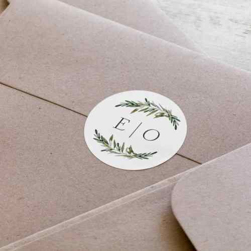 Envelope Seals, Seal, Graduation, Wedding, Vistaprint, 5280 Print