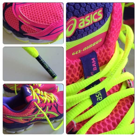 Dam tot dam schoenen Run2Day