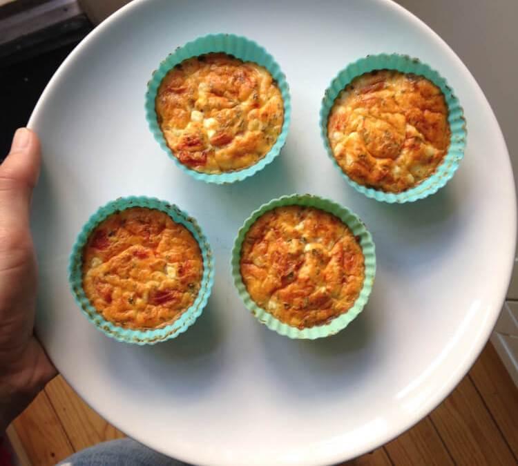 Gezond Kater Ontbijt: Hartige Muffins