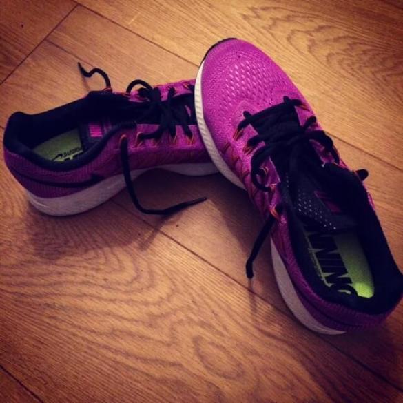 Een goed begin is nieuwe schoenen