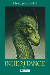 Christopher Paolini: Inheritance (obálka knihy)