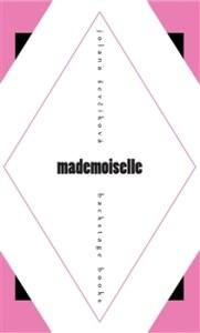 Jolana Ševčíková: Mademoiselle (obálka knihy)
