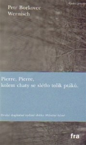 Petr Borkovec: Wernisch (obálka knihy)
