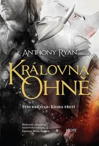 Anthony Ryan: Královna ohně (obálka knihy)