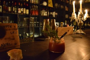 bloody mary at gocce et il professore paris bar